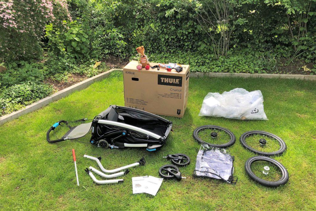 Paketinhalt Thule Chariot Sport 2019