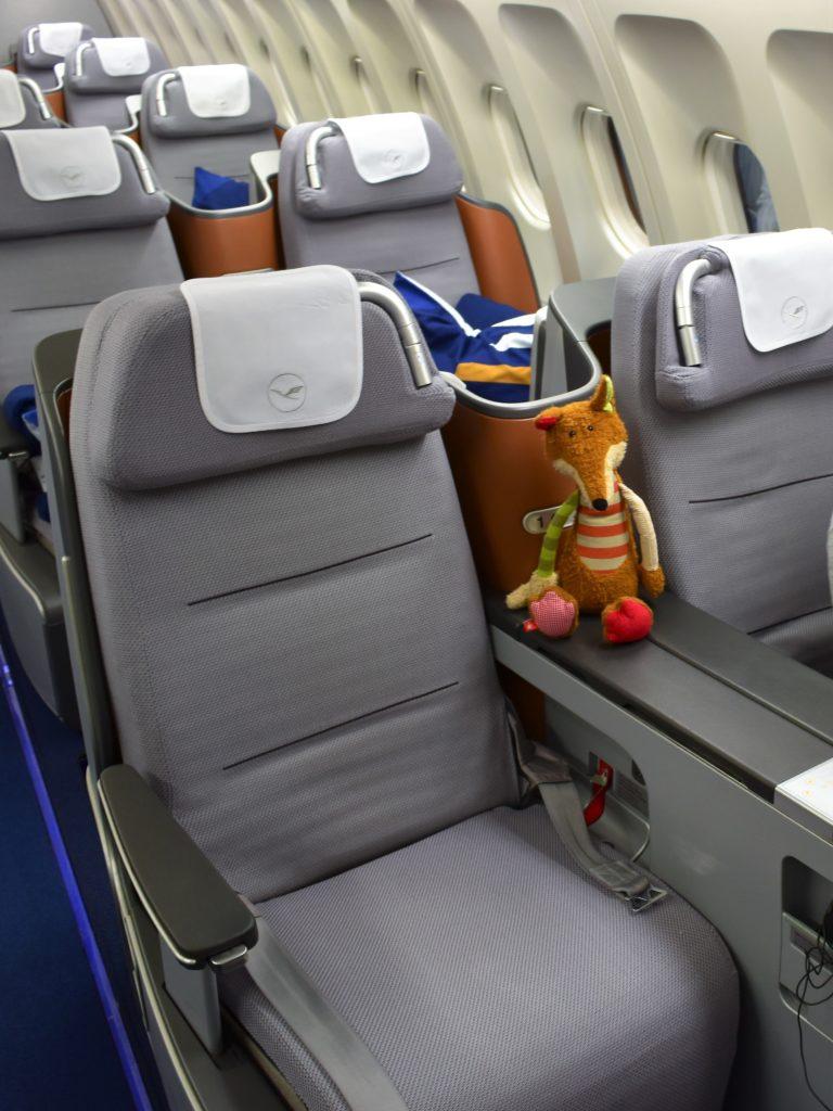 Lufthansa Business Class Sitz 1A