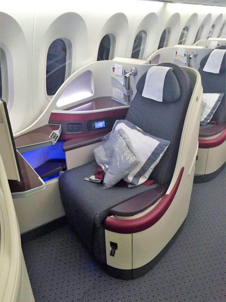 Qatar Business Class Seat A350 Rom - Qatar