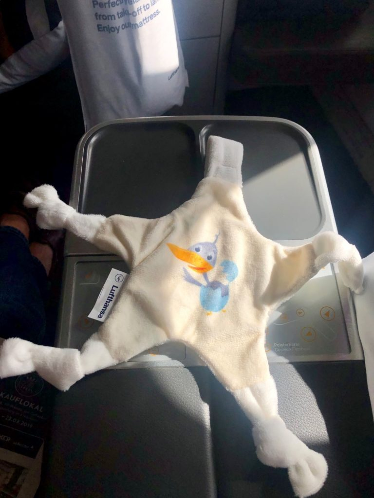 Lufthansa Spielzeug Stoffstern