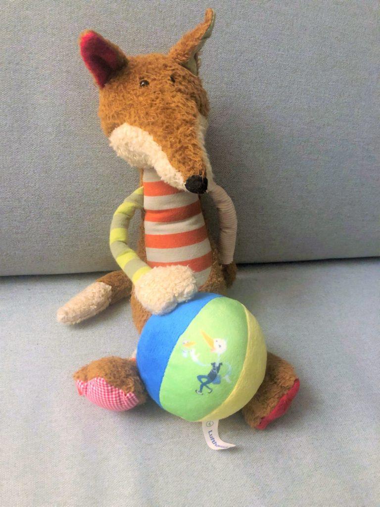 Lufthansa Spielzeug Ball