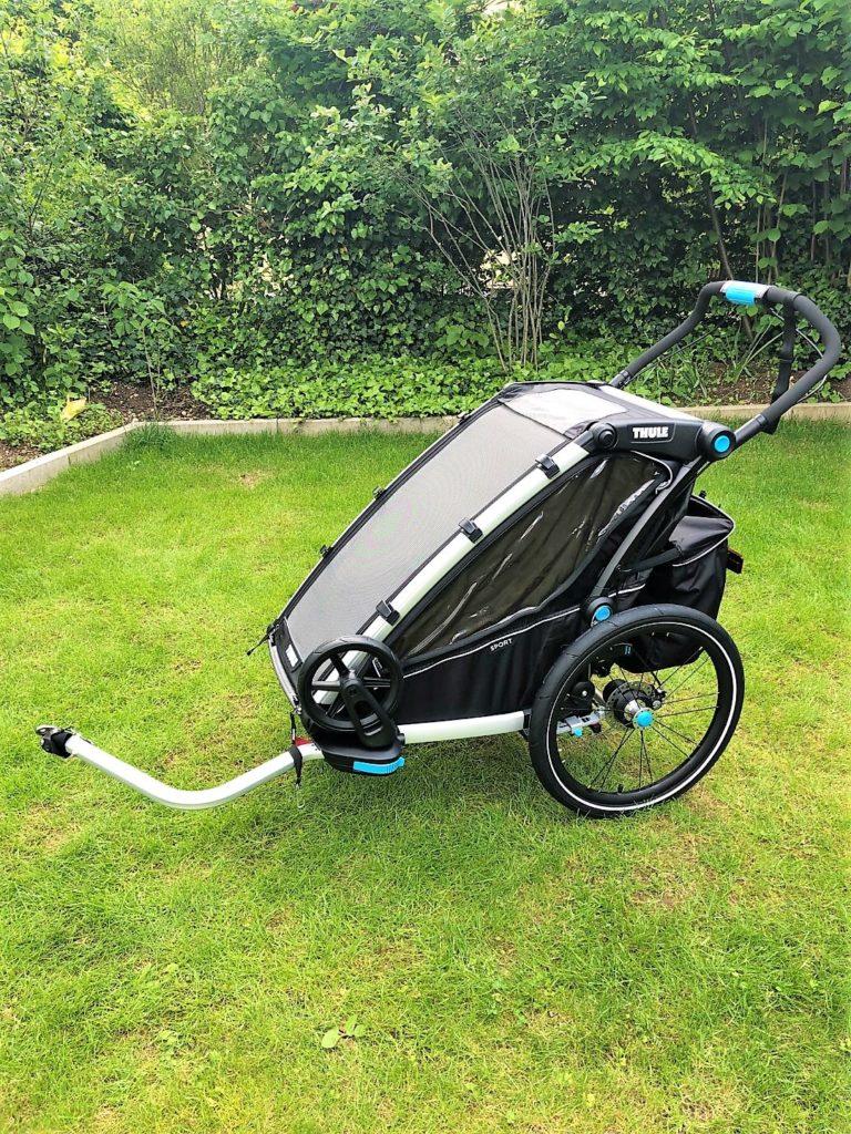Thule Chariot Sport als Fahrradanhänger