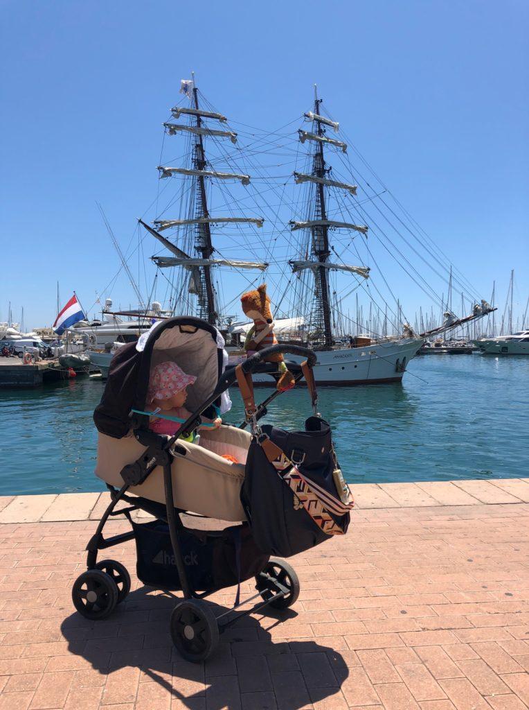 Immer Sonne wie hier am Hafen Alicante
