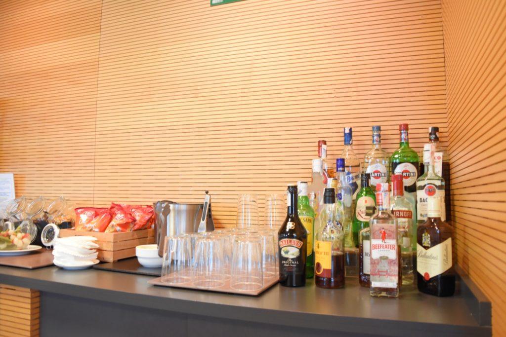 Spirituosen in der  SALA VIP Lounge - Alicante Airport