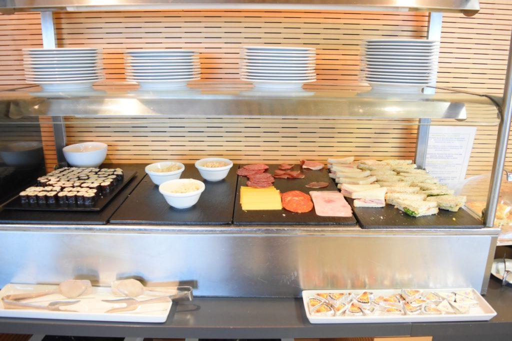 Sushi, Aufschnitt, Sandwiches i