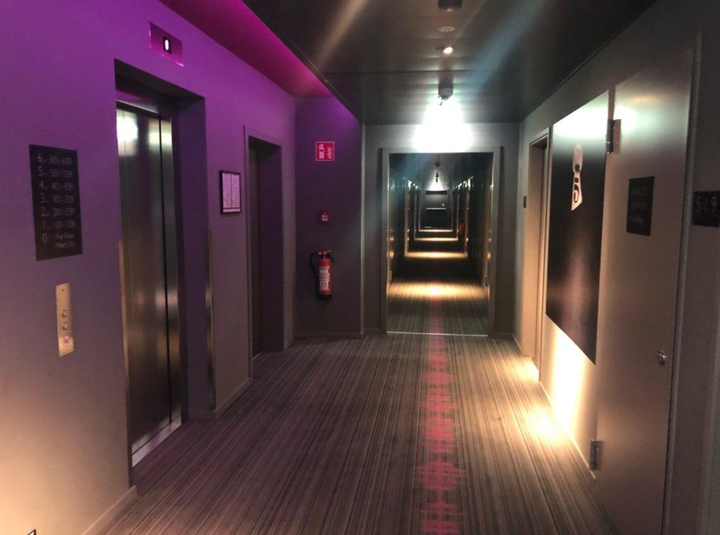 Moxy Hotel Ludwigshafen Flur