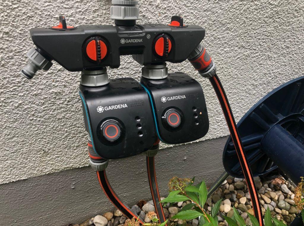 Zwei Gardena Smart Water Control ..mittlerweile sind es drei.