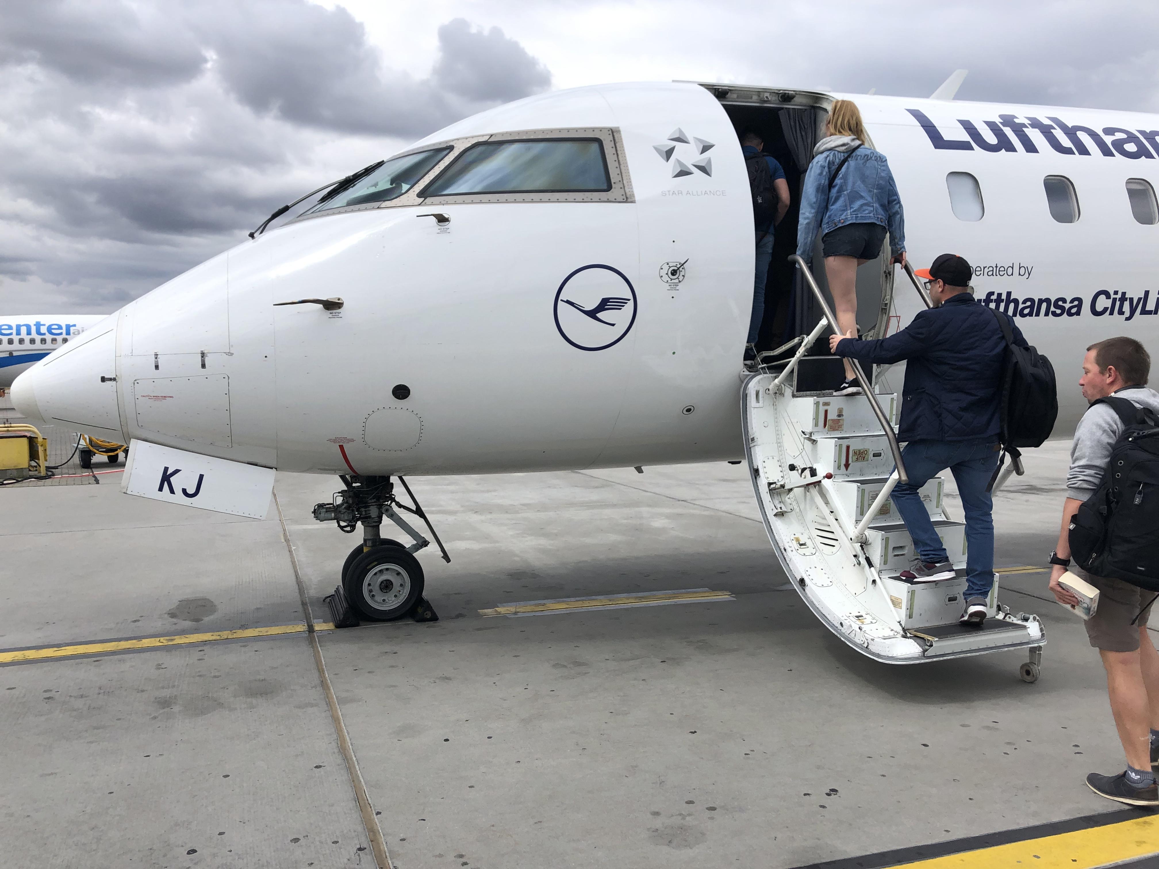 Lufthansa Canadair