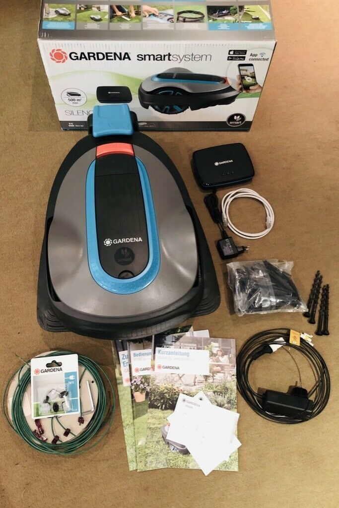 Inhalt des  Gardena smart SILENO city 500