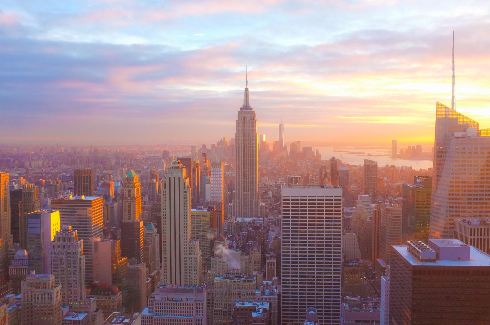 NYC Skyline from Rockefeller Center