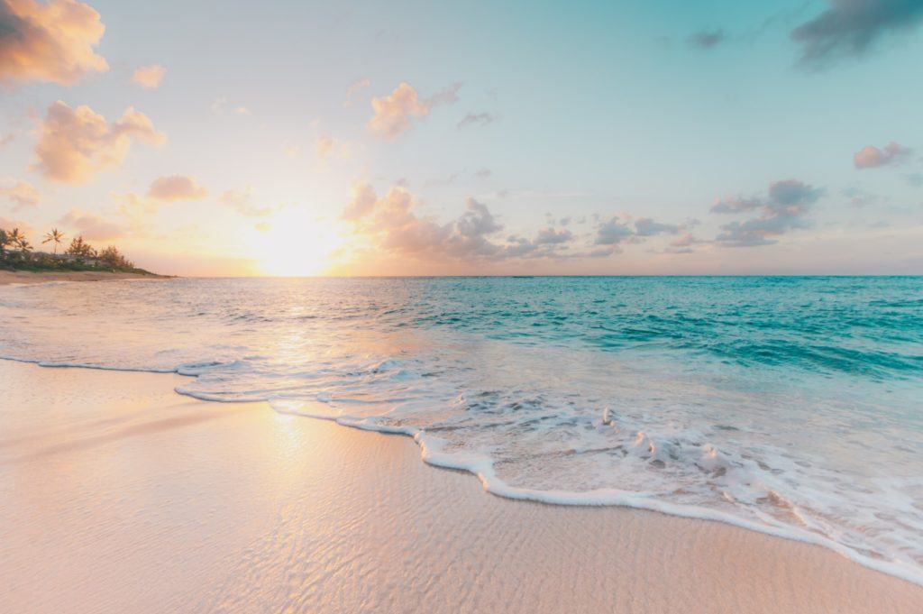 Sandstrand auf Big Island