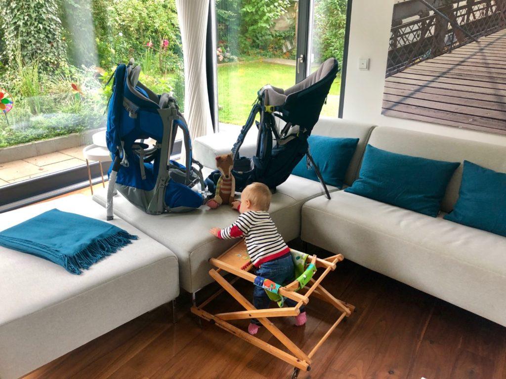 Auswahl der richtigen Kindertrage