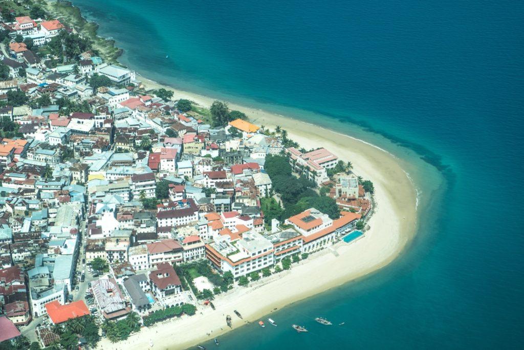Stone Town, die Hauptstadt Sansibars im Süden der Insel