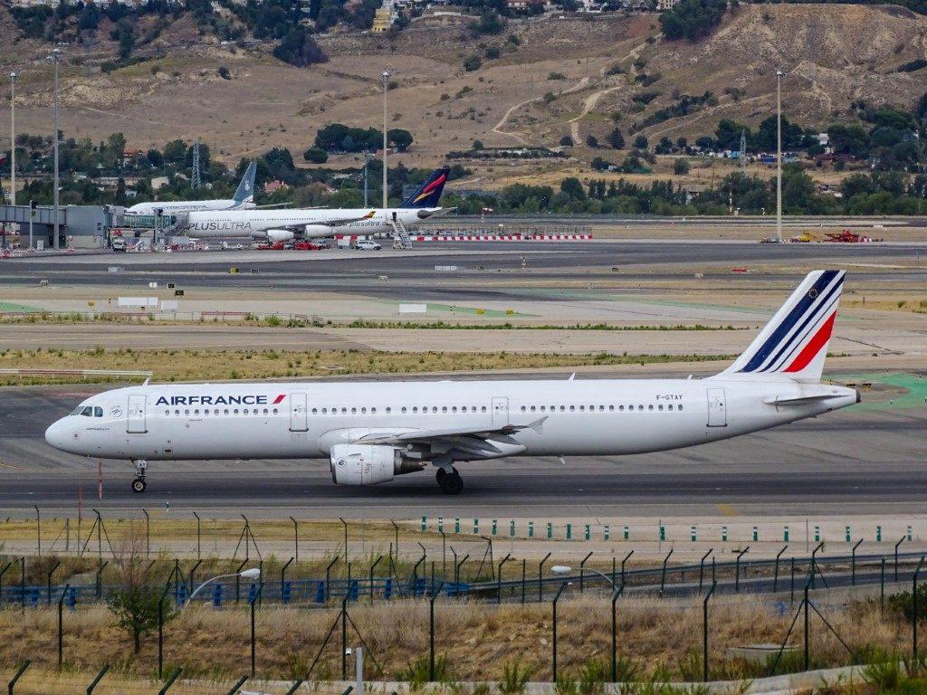 Air France ist eine gute Airline und bietet Spielzeug für Kinder an Board.