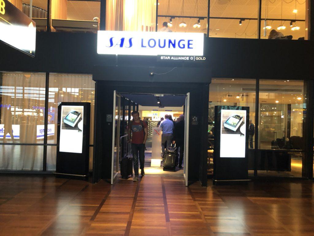 Zugang zu der SAS Business Lounge, Flughafen Kopenhagen