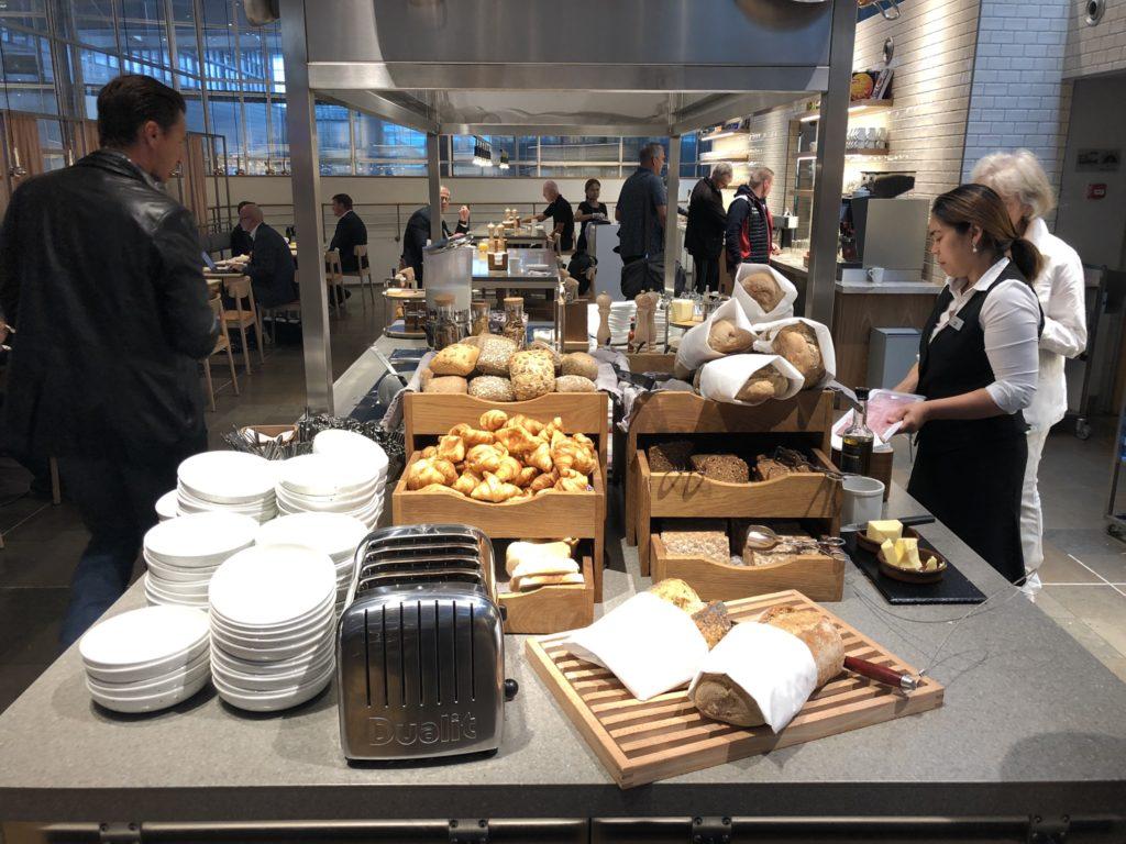 Brötchen, Brot und Croisants
