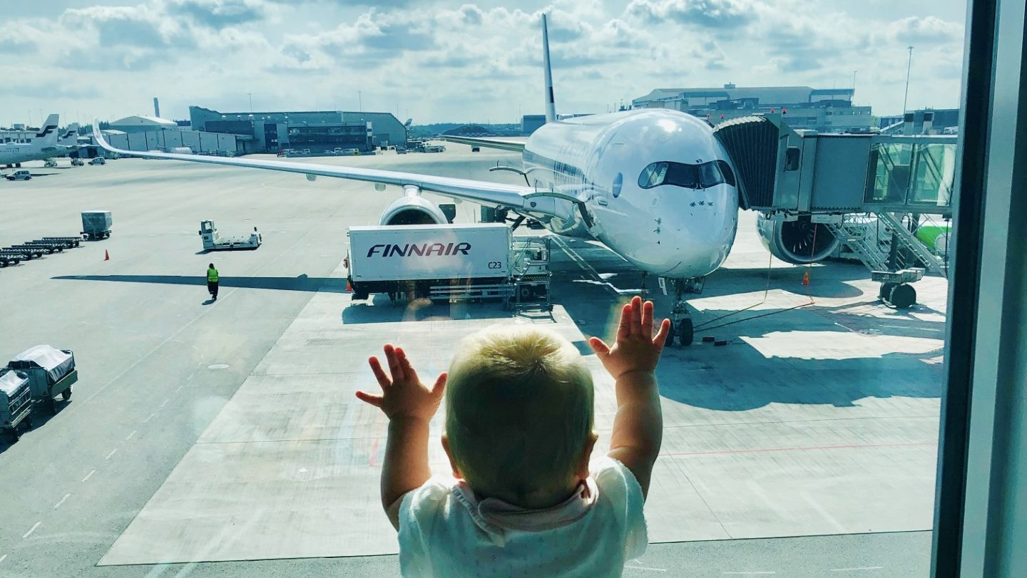 Baby-Test: Mit Finnair nach Los Angeles in der Business Class