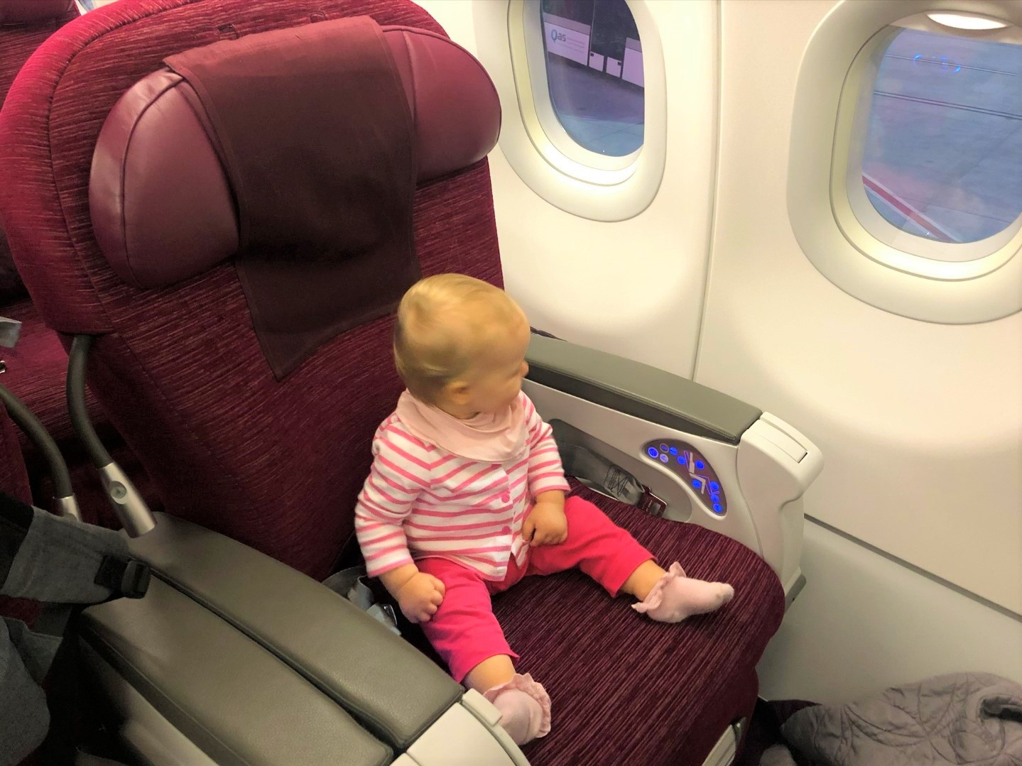 Baby-Test: Qatar Airways Airbus A320 Business Class von Izmir nach Doha