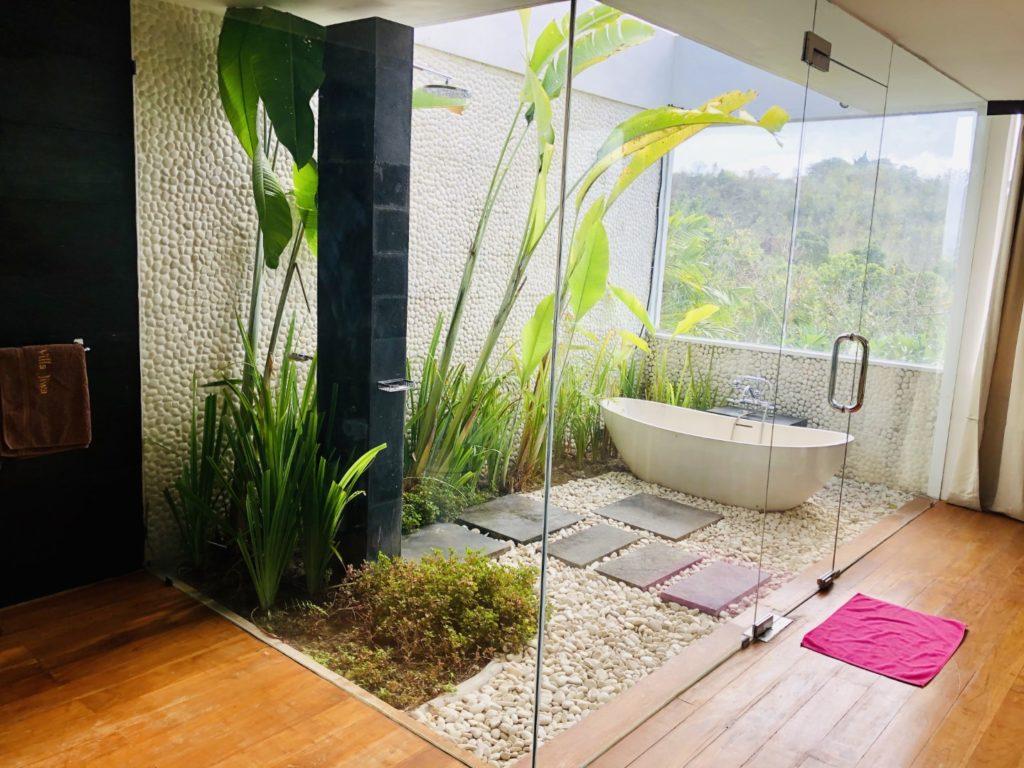 Außenbad, Villa Jiwa, Bali