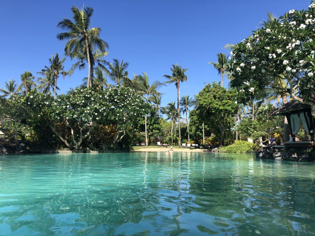 Künstliche Lagune im Laguna Luxury Resort & Spa - Autograph Collection