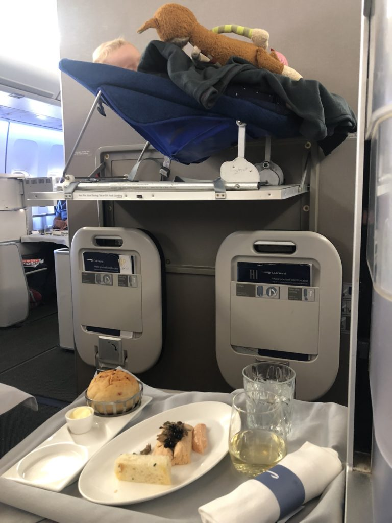British Airways Club World - Lachspastete zur Vorspeise