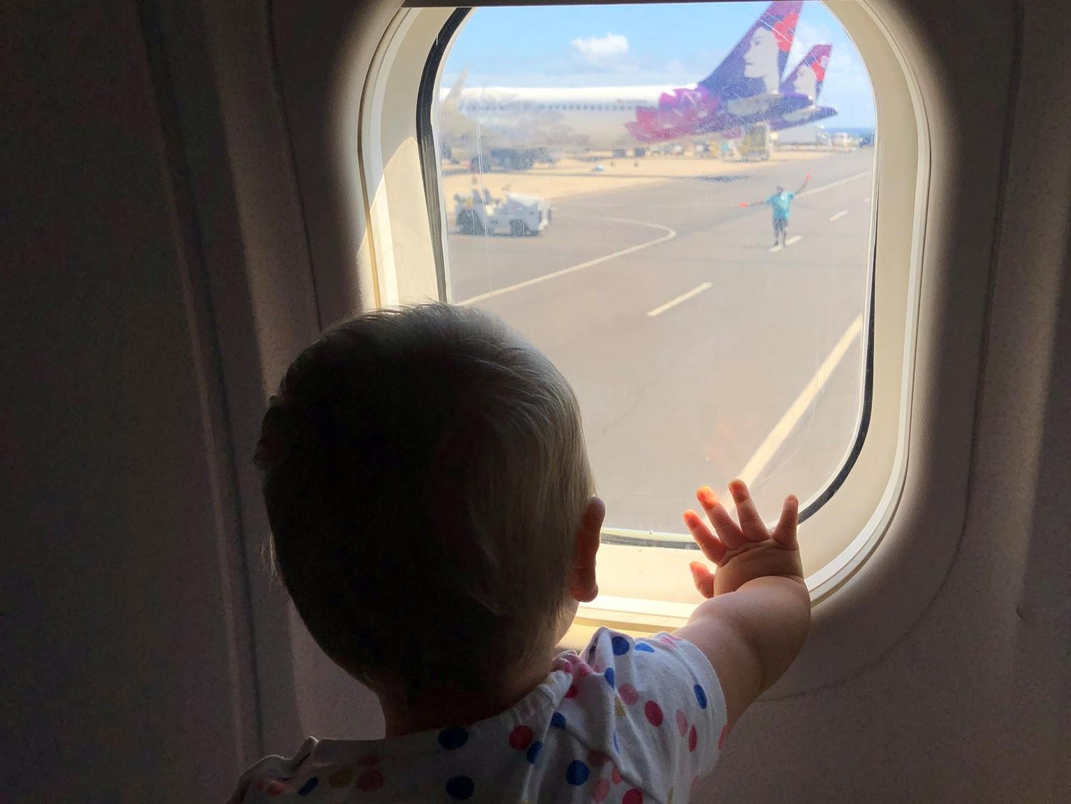 Baby-Test: Hawaiian Airlines Business Class von Big Island nach Kauai