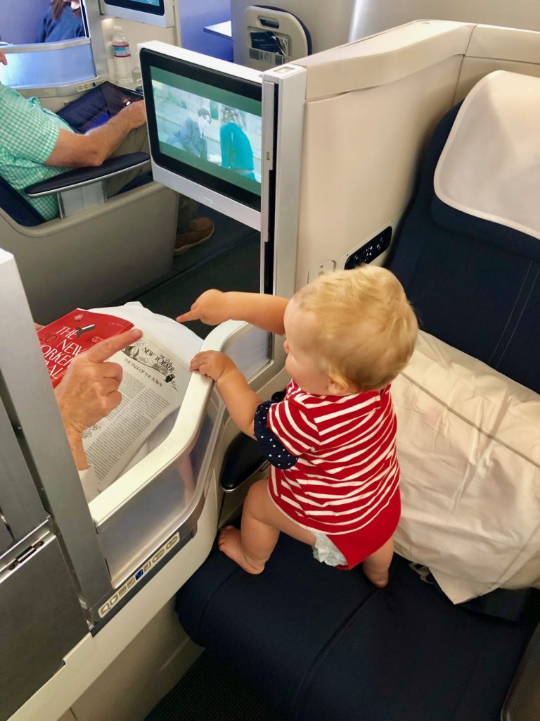 Spielen mit dem Sitznachbar - British Airways Business Class