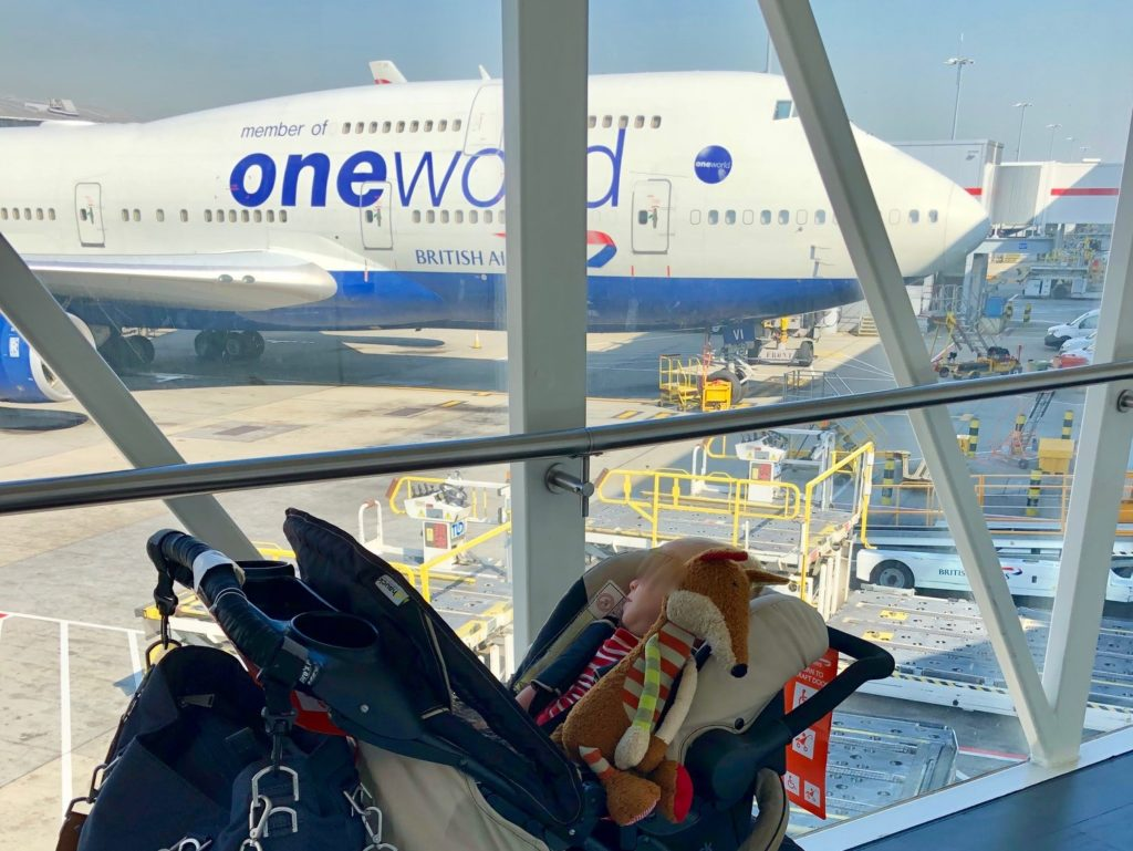 British Airways Boeing 747 - Terminal TB - Tom Bradley International Terminal (TBIT) Los Angeles (LAX)