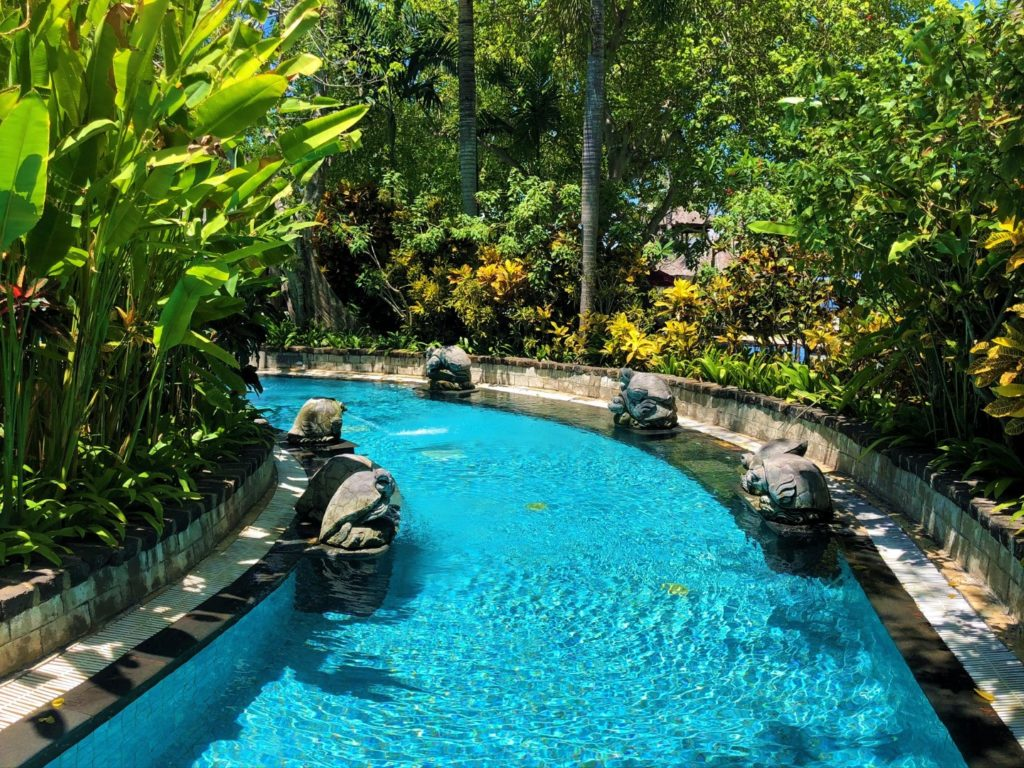 Schwimmkanal im Spielen  - im Laguna Luxury Resort & Spa