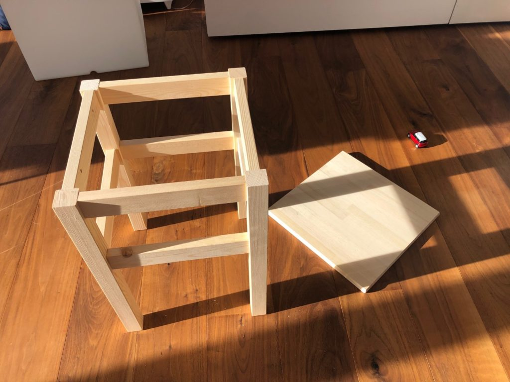 IKEA Oddvar montieren ohne Deckplatte