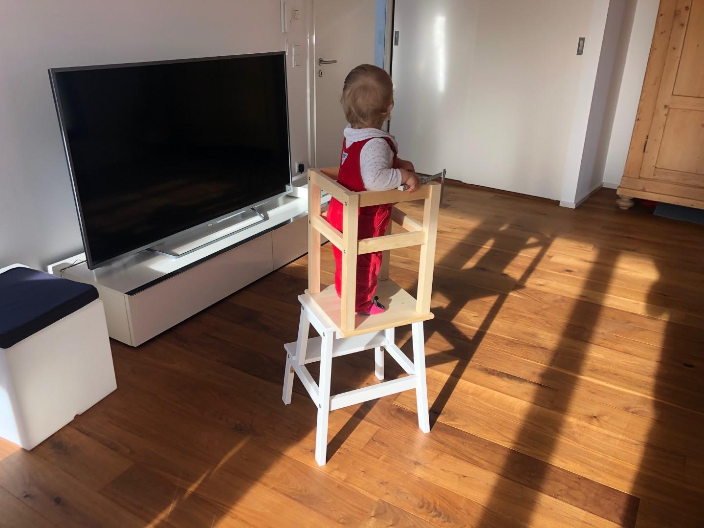Lernturm selber bauen: Ikea Hack mit zwei Hockern – so einfach geht es!