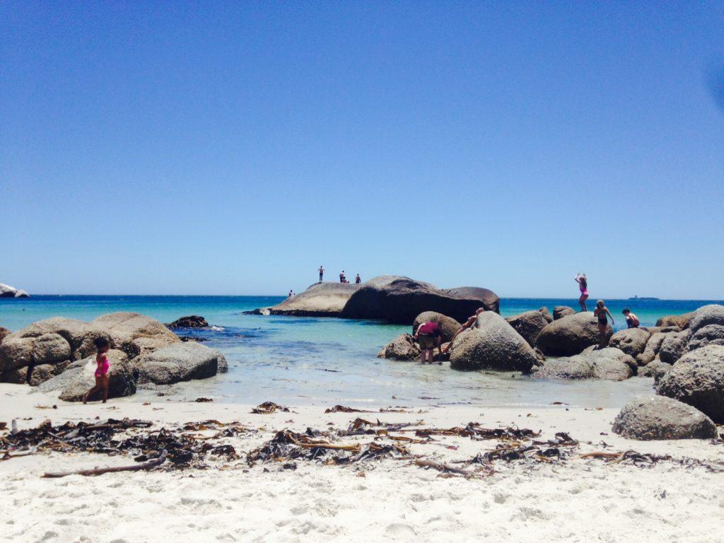 Die Felsen von Clifton erinnern an die Seychellen