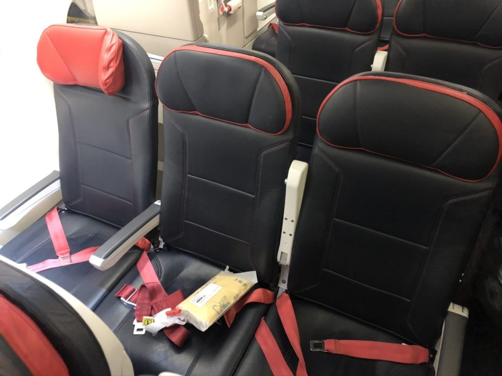 Turkish Airlines Airbus A321 Sitze Economy Class