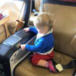 SAA South African Airways Domestic Business Class Sitz - die Knöpfe haben meine volle Aufmerksamkeit