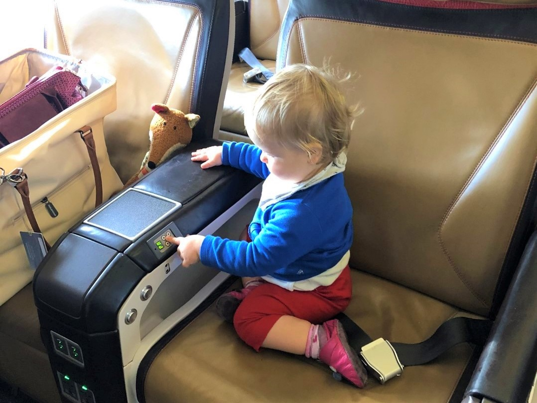 Baby Test: South African Airways Business Class im Airbus A320 nach Kapstadt