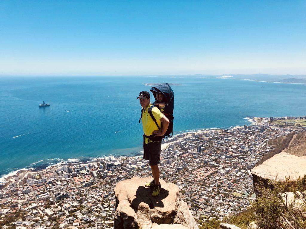 Die Felsvorsprünge am Gipfel des Lion's Head sind Instagram Kulisse pur