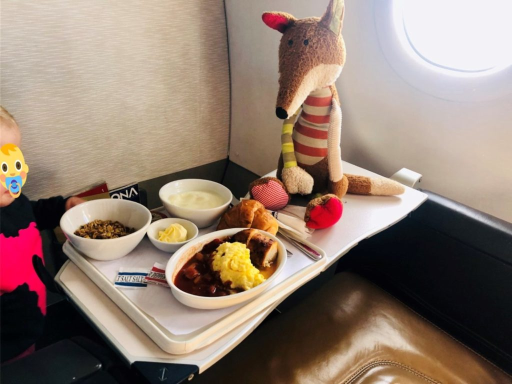 SAA South African Airways Domestic Business Class Frühstück - schlimmer als in jeder Economy