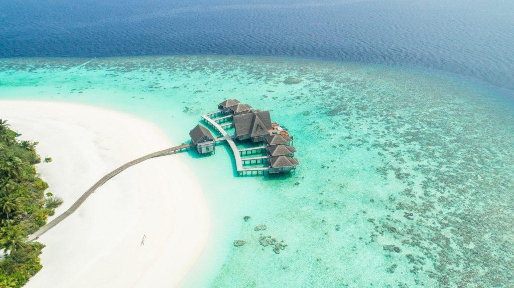 Over Water Bungalows auf den Malediven
