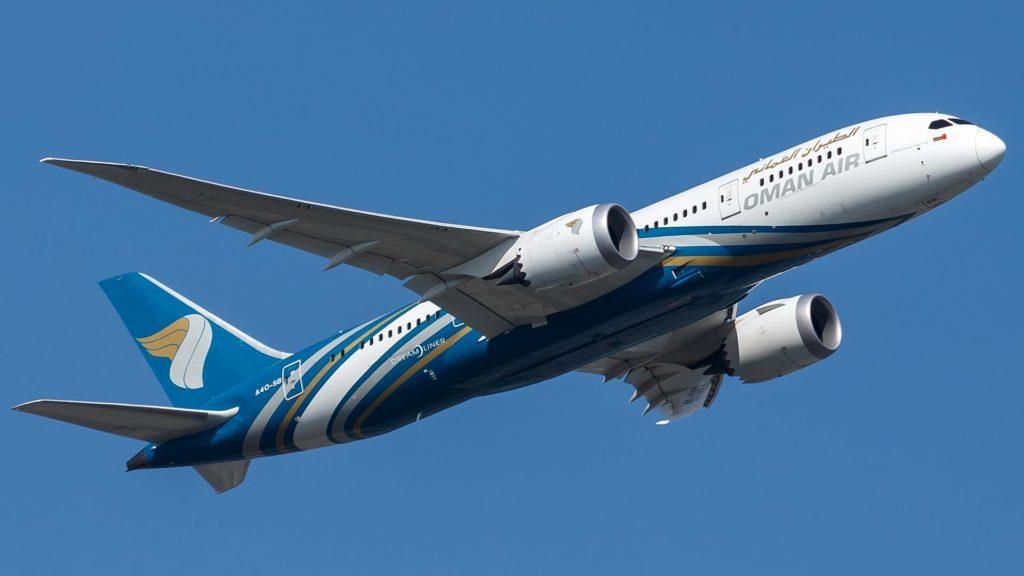 Boeing 787 Dreamliner von Oman Air