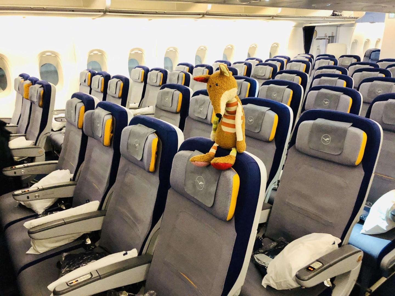 Review: Lufthansa Airbus A380 Economy Class von San Francisco nach München