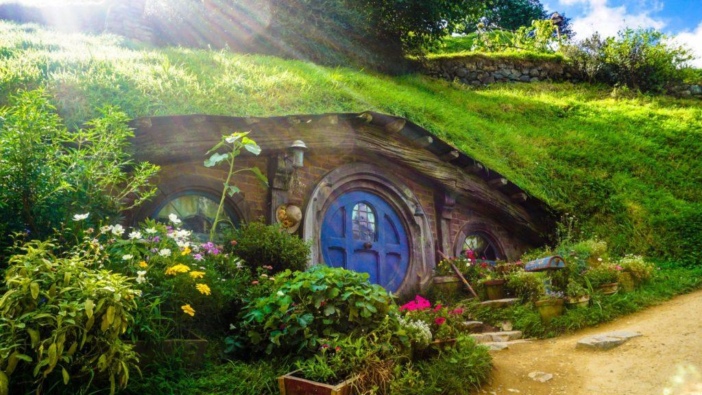 Herr der Ringe Landschaft und das Hobbit Dorf