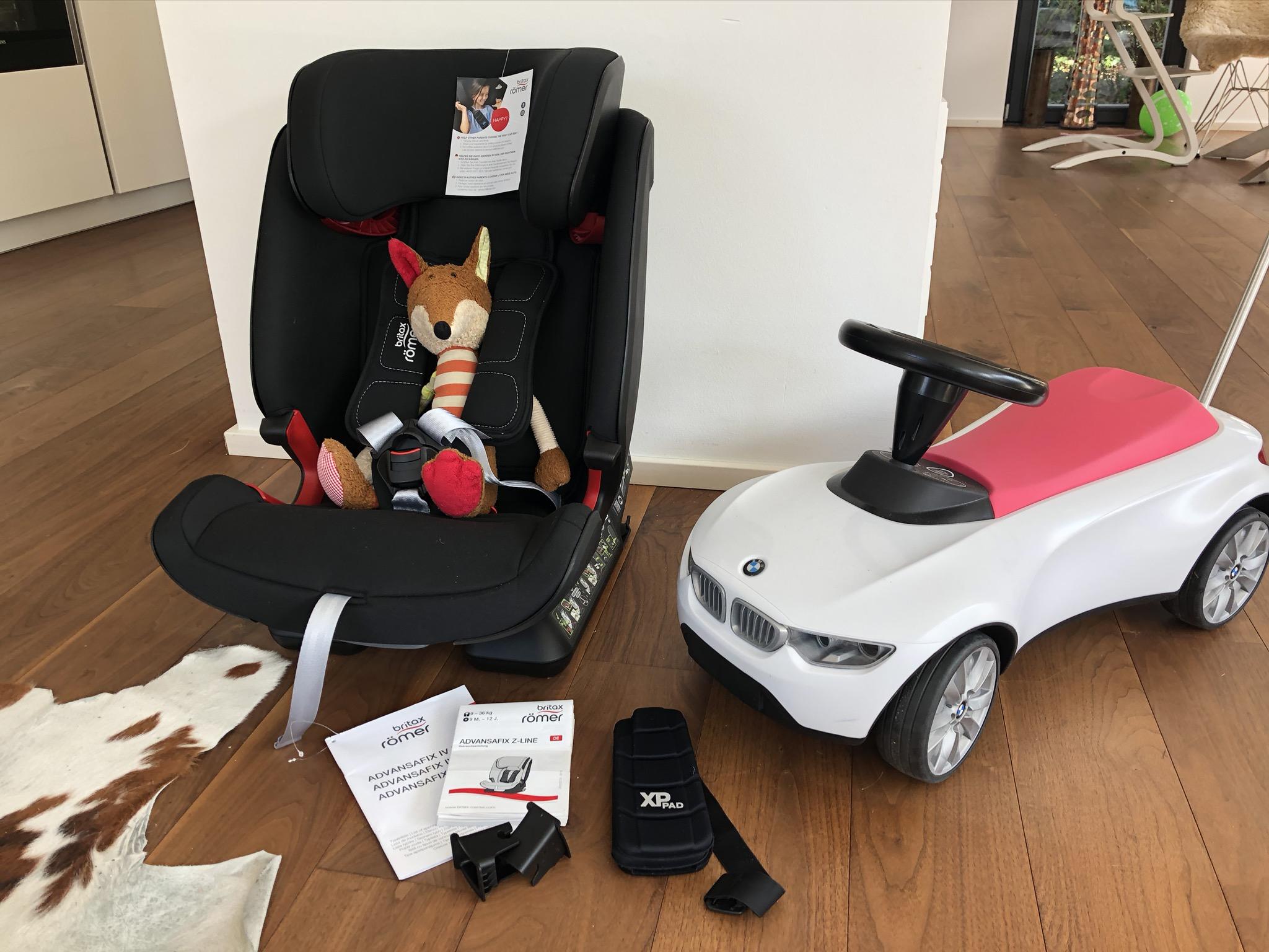 Babyschale, Reboarder oder Kindersitz – was sind die Unterschiede?