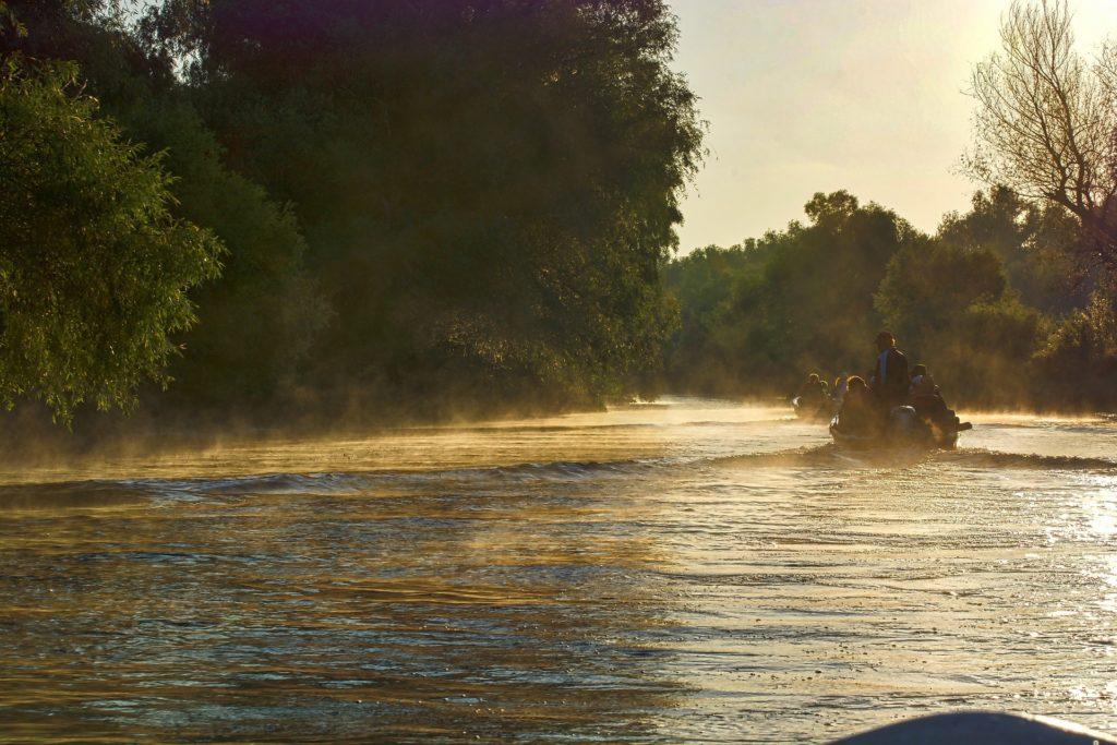 Donau Delta Flusslandschaft
