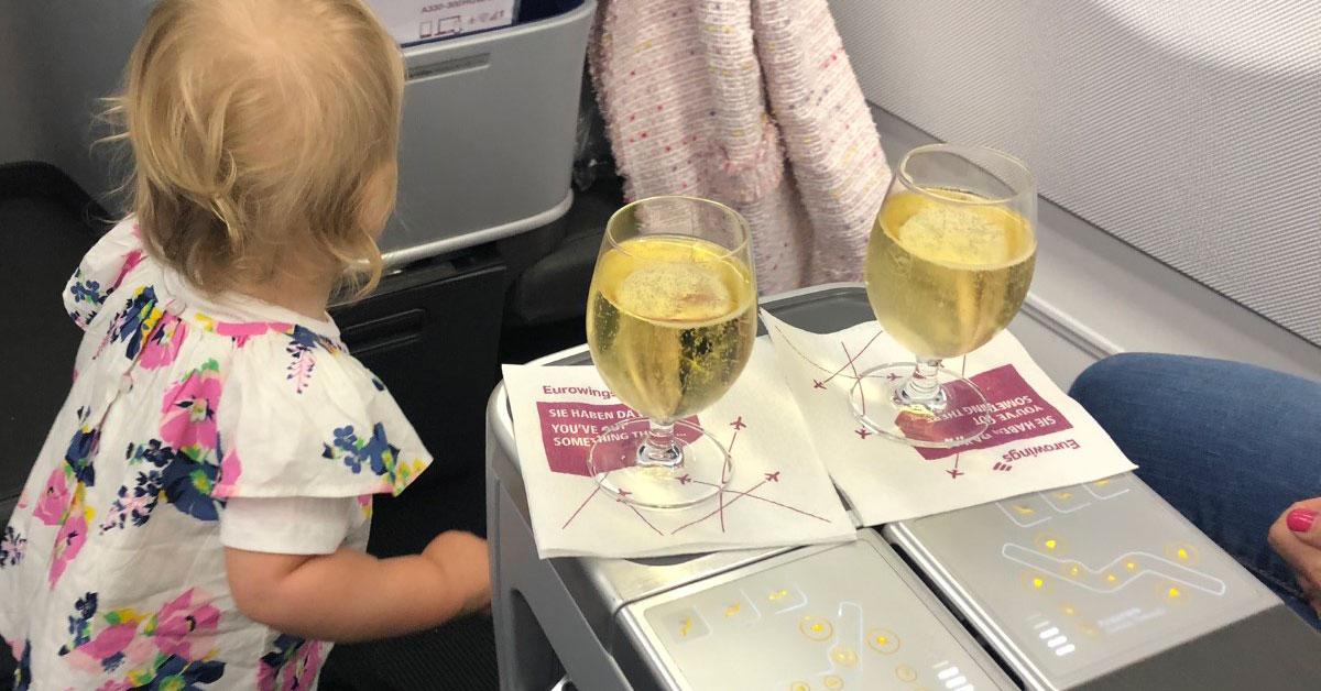 Mein Flugplan 2020 als Baby: Fünf Kontinente, 32 Flüge und zweimal um die Welt!