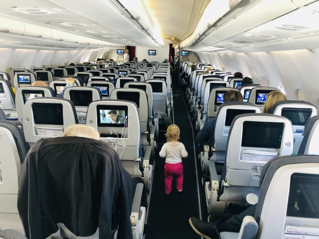 Eurowings Economy Class im Airbus A330-300