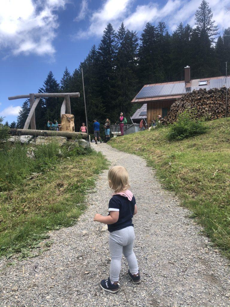 Super Lengrieser Hütte mit tollem Spielplatz