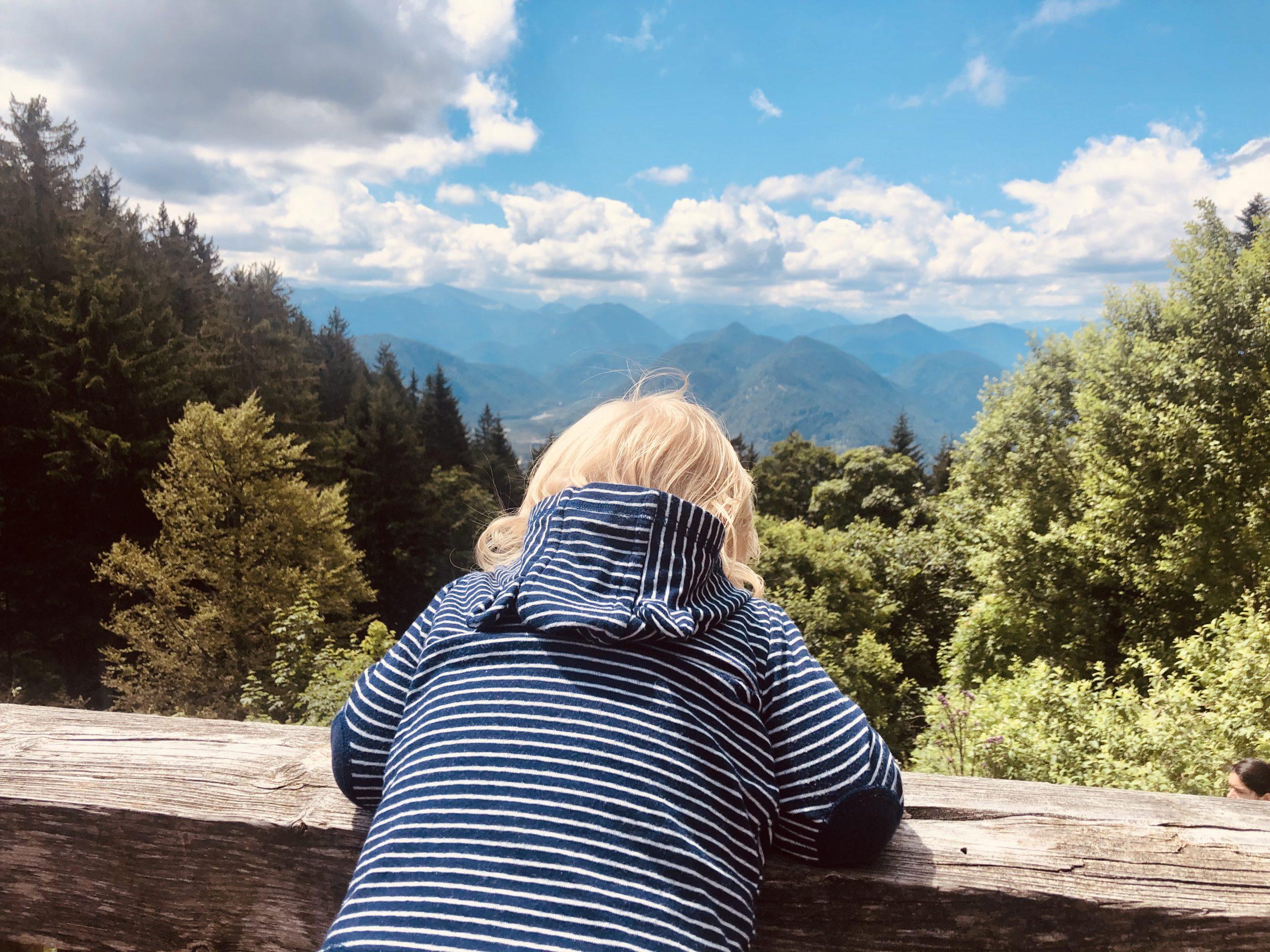Ausblick bon der Lengrieser Hütte