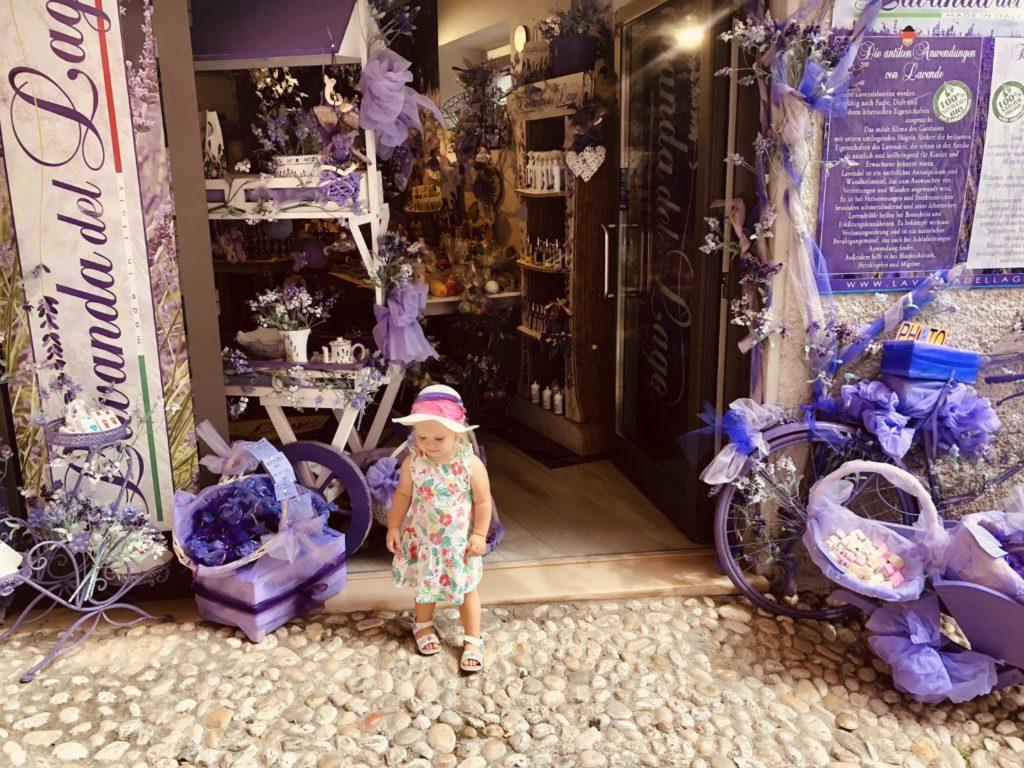 Der Lavendel Laden in Malcesine